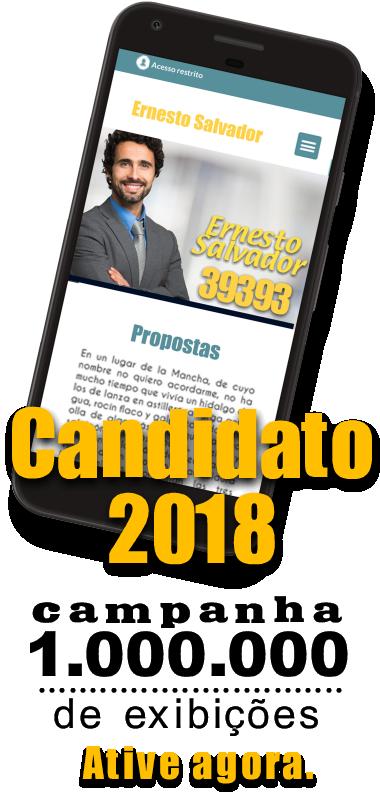 Publicidade Candidato 2018
